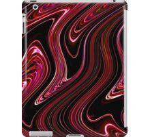 Liquid Red No.4 - Luminosity series iPad Case/Skin