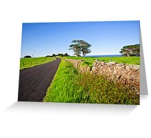Dry Stone Walls  Greeting Card