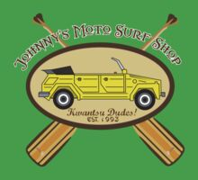 Johnny's Moto Surf Shop by Brantoe