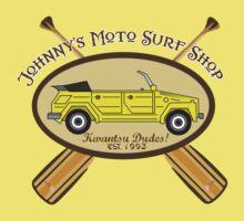 Johnny's Moto Surf Shop One Piece - Short Sleeve