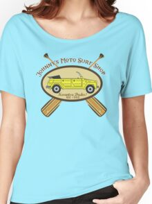 Johnny's Moto Surf Shop Women's Relaxed Fit T-Shirt