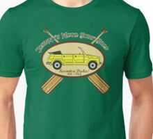Johnny's Moto Surf Shop Unisex T-Shirt