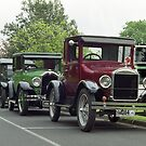 Vintage Cars in Drouin, Gippsland Victoria by Bev Pascoe