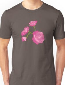 Pink Camelia Unisex T-Shirt