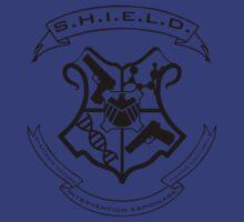 S.H.I.E.L.D. Hogwarts Crest by Nowhere89