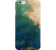 Blue & Green Faded Wallpaper Iphone Case iPhone Case/Skin