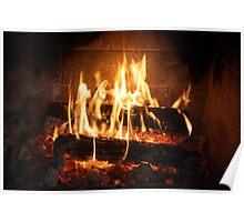 Fire, Open Wood. Poster