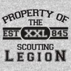 Attack on Titan - Sports Theme! Property of The Scouting Legion. ver 1 by cplravioli