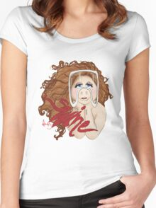 Piggy Swine Women's Fitted Scoop T-Shirt