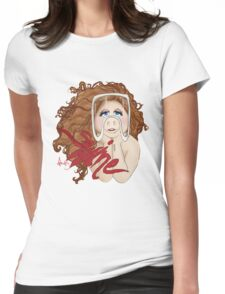 Piggy Swine Womens Fitted T-Shirt
