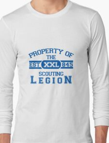 Attack on Titan - Sports Theme! Property of The Scouting Legion. ver 2 Long Sleeve T-Shirt