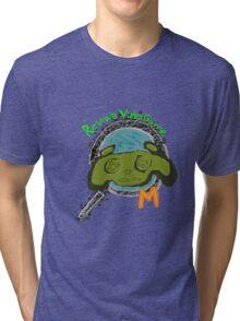 Video Game review mech Tri-blend T-Shirt