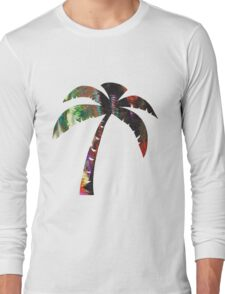 Summer Palm Long Sleeve T-Shirt