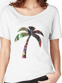 Summer Palm Women's Relaxed Fit T-Shirt