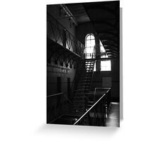 Old Melbourne Gaol. Greeting Card