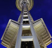 Space Needle Seattle  by Zach Hawn