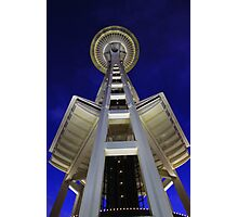 Space Needle Seattle  Photographic Print