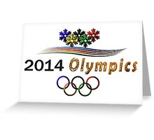 Sochi Olympic Logo Greeting Card