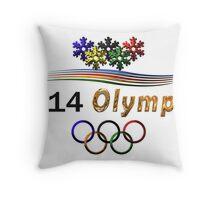 Sochi Olympic Logo Throw Pillow