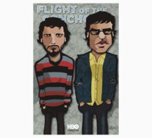 Flight of the Conchords by binarygod