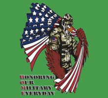 Honoring Our Military Everyday by MGraphics