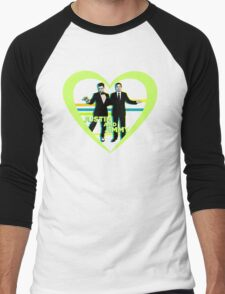 Justin and Jimmy Men's Baseball ¾ T-Shirt
