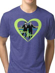 Justin and Jimmy Tri-blend T-Shirt