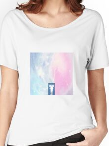 tardis and the doctor in space Women's Relaxed Fit T-Shirt