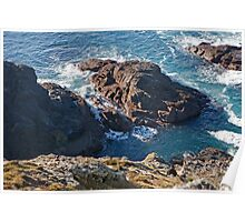 Cape Cornwall look out point Poster