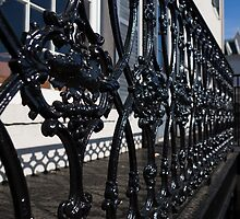 Intricate Georgetown Shapes and Shadows - Washington, DC  by Georgia Mizuleva