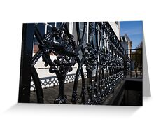 Intricate Georgetown Shapes and Shadows - Washington, DC  Greeting Card