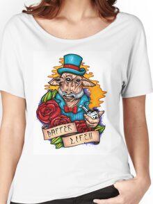 Dapper Ask Aak Women's Relaxed Fit T-Shirt