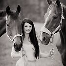 The girl who loved horses by Brian Edworthy