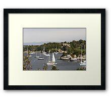 Rhode Island USA Framed Print