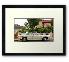 Suburban Auto Coburg  Framed Print