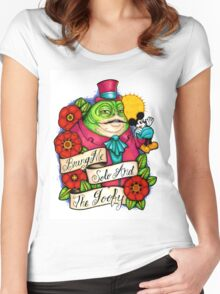 Gangster Jabba Women's Fitted Scoop T-Shirt