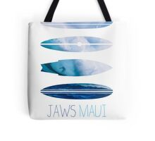 My Surfspots poster-1-Jaws-Maui Tote Bag