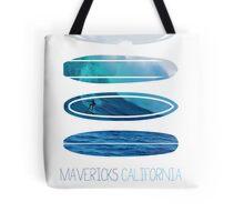 My Surfspots poster-2-Mavericks-California Tote Bag