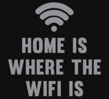 Home Is Where The Wifi Is by BrightDesign