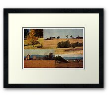 Rural Heartbeat Framed Print