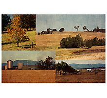 Rural Heartbeat Photographic Print