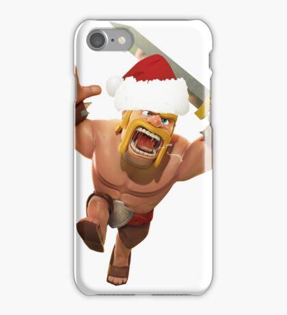 BarbarianClaus iPhone Case/Skin