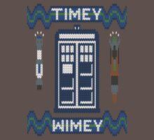 Timey-Wimey Xmas Kids Clothes