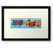 1943 Arcade Framed Print