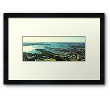 Sydney Harbour from Centrepoint Tower Framed Print