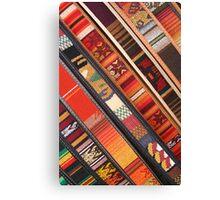 Colorful Belts Canvas Print