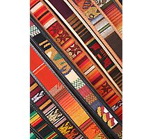 Colorful Belts Photographic Print