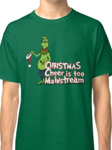 Hipster Grinch Classic T-Shirt