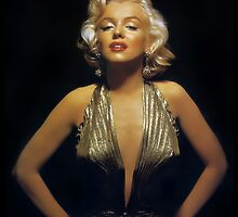 Seductive Marilyn Monroe iPhone Case by PineSinger