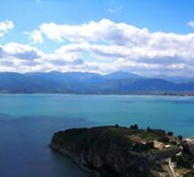 panorama of Nafplio -Greece by tbshots
